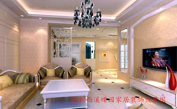 杭州万科西溪蝶园家居装饰效果图