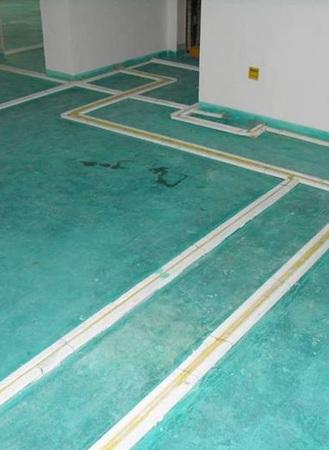 (1)强电,弱电,插座,开关,空调:用公司专用的盖板保护,在水电验收好后